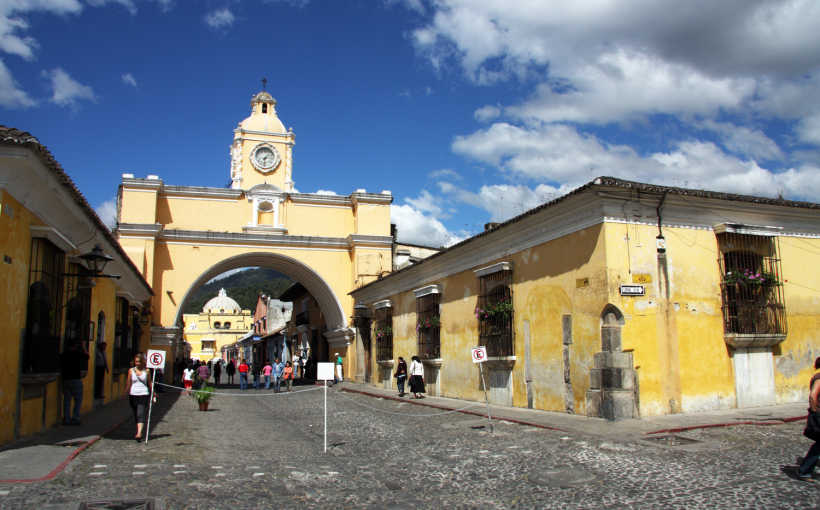 Antigua - the old colonial capital
