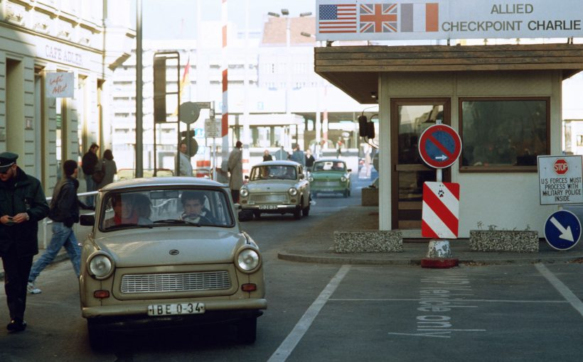 Checkpoint Charlie on 14. November 1989