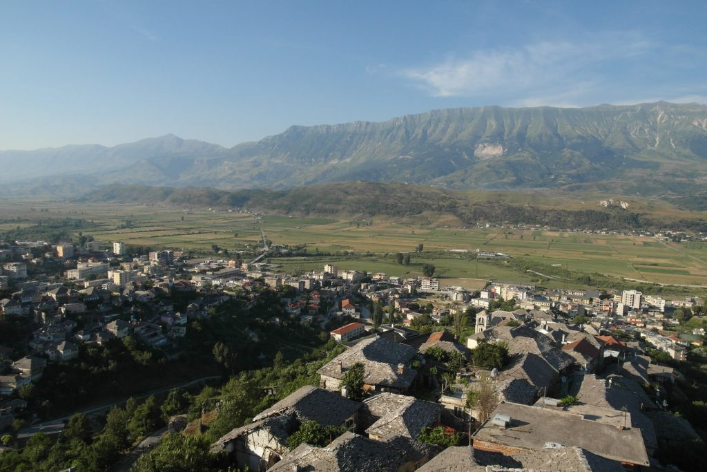 Gjirokastra - view from the castle