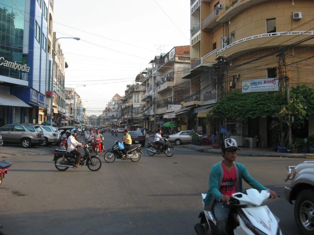 Phnom Penh - the capitol is wild and in many ways wonderful.