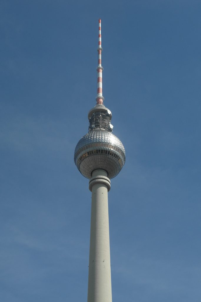 The Iconic TV Tower in Berlin