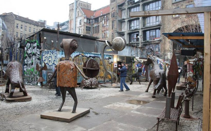 Art Exhibition in Tacheles