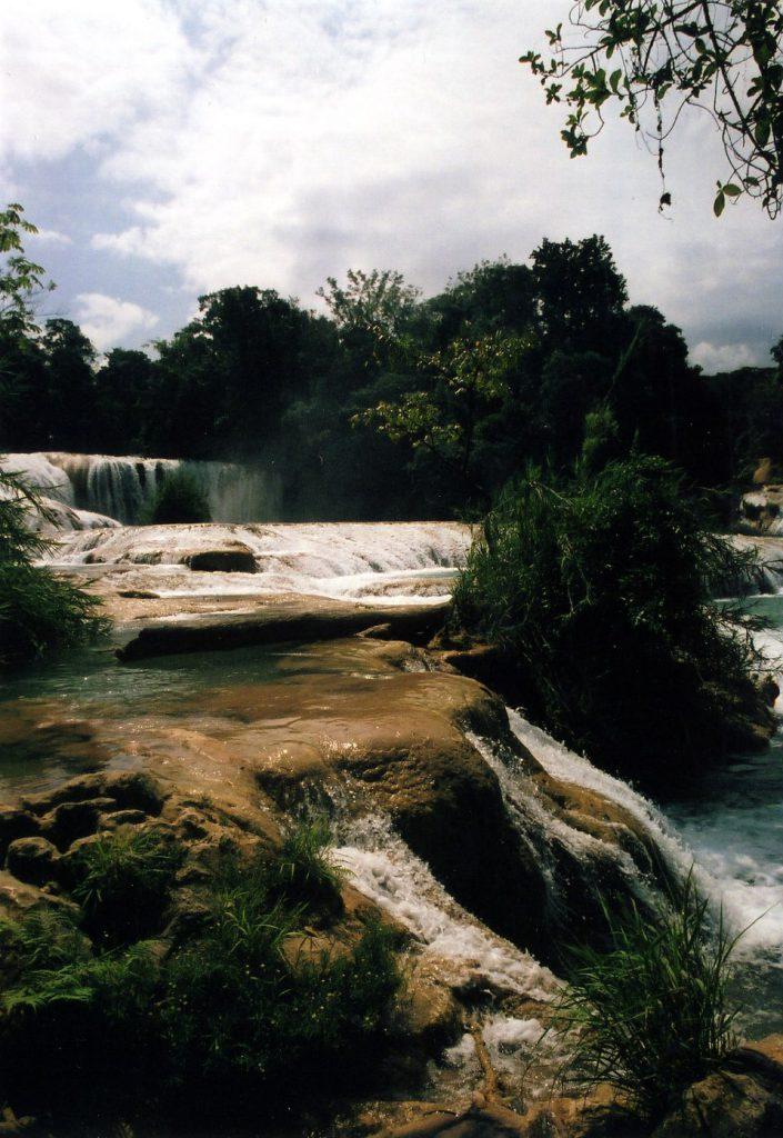 Agua Azul - nice but a tourist trap