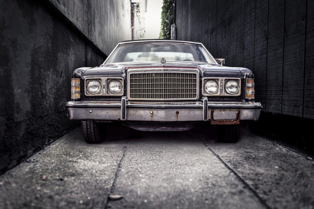 Classic Ford car