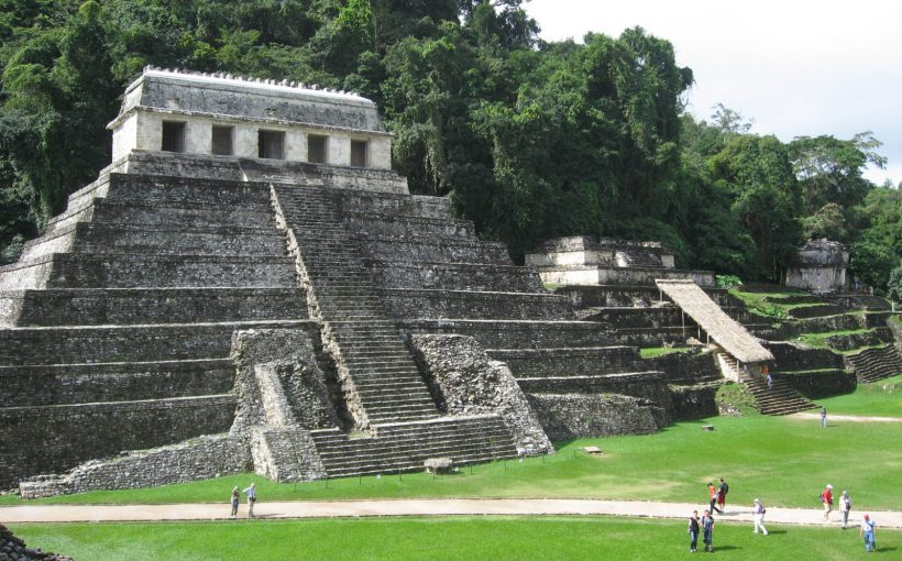 The most impressive site of Palenque