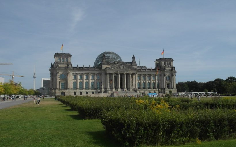 Reichstag in the German capital of Berlin