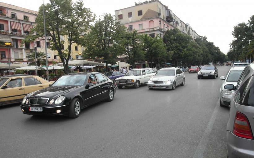 Mercs in Tirana