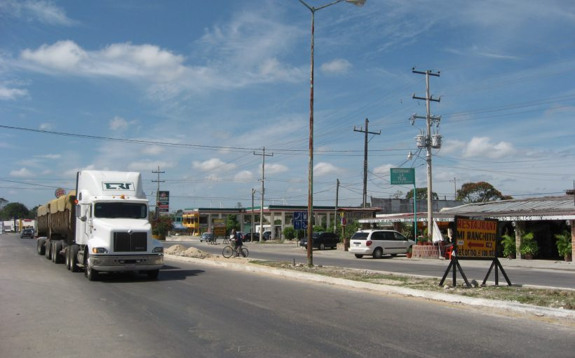 Xpujil near Calakmul